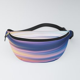 Abstract Sunset XI Fanny Pack