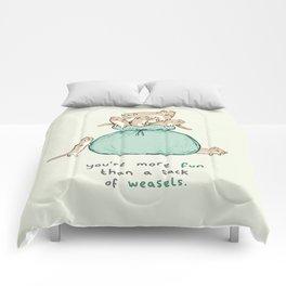 Sack of Weasels Comforters