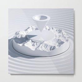 WHITEPOINT Metal Print