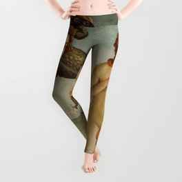 The Birth of Venus by Sandro Botticelli Leggings