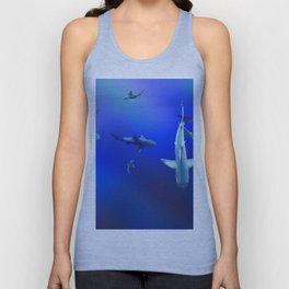 Sharks Unisex Tank Top