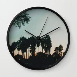 WeHo Sunset  Wall Clock
