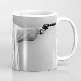 Redemption Text Black And White Coffee Mug