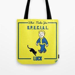 Luck S.P.E.C.I.A.L. Fallout 4 Tote Bag