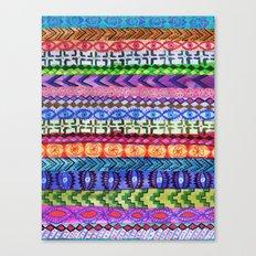 Peru Stripe II Canvas Print