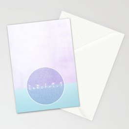 think carefully Stationery Cards