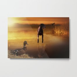 All Creatures In Peace Metal Print