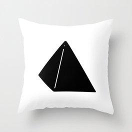 Shapes Pyramid Throw Pillow