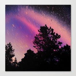 Trippy Sillouette Canvas Print