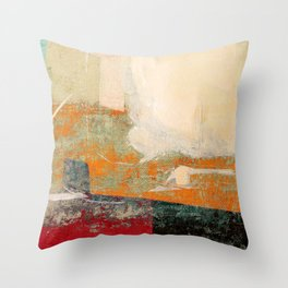 Peoples in North Africa Throw Pillow