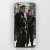 peggy carter iPhone & iPod Skins featuring Jack Thompson & Peggy Carter. by agentcarter23