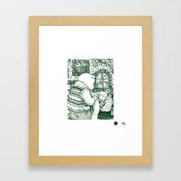 Siesta Framed Art Print