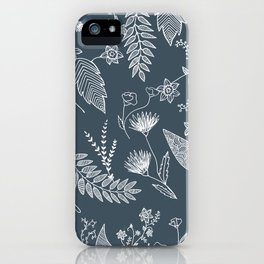 Flower Jungle iPhone Case