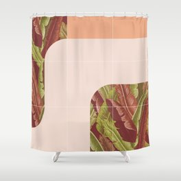 Mid-Century Tropical Style #society6 #tropical Shower Curtain