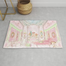 Paris Pink Patisserie Rug