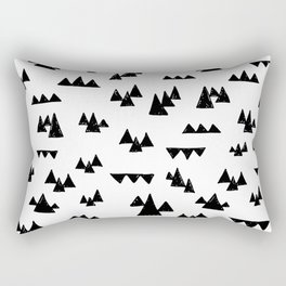 Nordic trees Rectangular Pillow