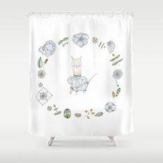 Sir Toribio Achaval Shower Curtain