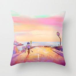 Bicycle 2 Throw Pillow