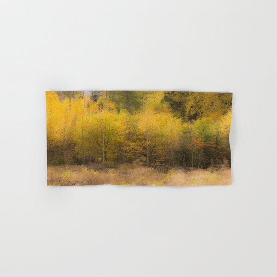 Fall color forest Hand & Bath Towel