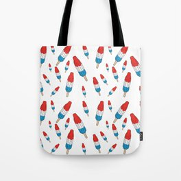 Bomb Pops Ice Cream Pattern Tote Bag
