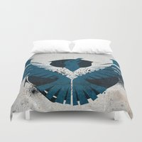 infamous Duvet Covers featuring inFamous Second Son Good Karma 1 by Kyrsten Carlson