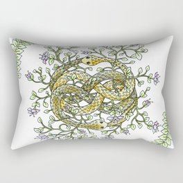 Neverending Story Inspired Auryn Garden Rectangular Pillow