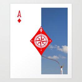 Aces Art Print