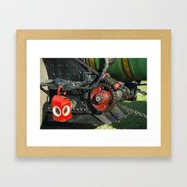 Greasy Worm  Framed Art Print