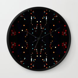 Galactoid Wall Clock