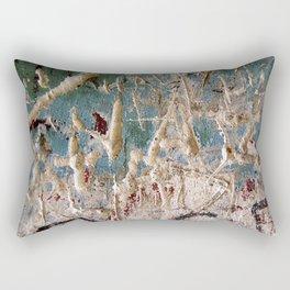 Scratched Surface Rectangular Pillow