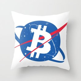 Bitcoin Throw Pillow