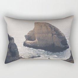 Shark Fin Cove Rectangular Pillow