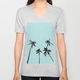 Palm trees 5 Unisex V-Neck