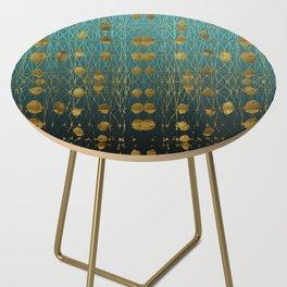 Kelp Forest Blue Side Table