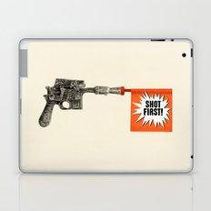Shot First Laptop & iPad Skin