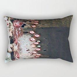 Bloody Smoke Rectangular Pillow