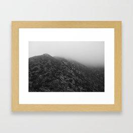 Las Virgenes Canyon Film Noir Framed Art Print