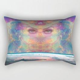 The Awakening of Gaea Rectangular Pillow