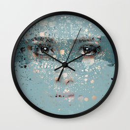 your eyes Wall Clock