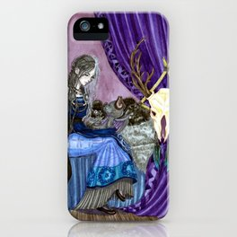 The goddess of death iPhone Case