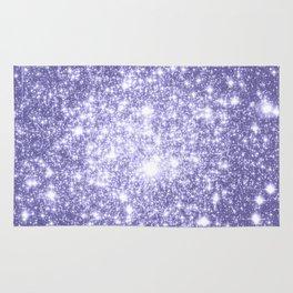 Galaxy Sparkle Dark Lavender Rug