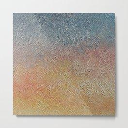 Sunset Monet´s Theme Metal Print