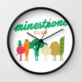 Minestrone Wall Clock