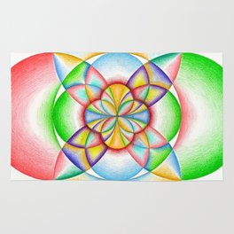 The Four Directions - The Rainbow Tribe Collection Rug
