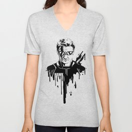 Avengers in Ink: Hawkeye Unisex V-Neck