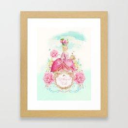 Marie Antoinette Let them Eat Cake Framed Art Print