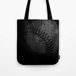 Baseball Illusion Tote Bag