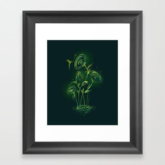 Juke Box Framed Art Print