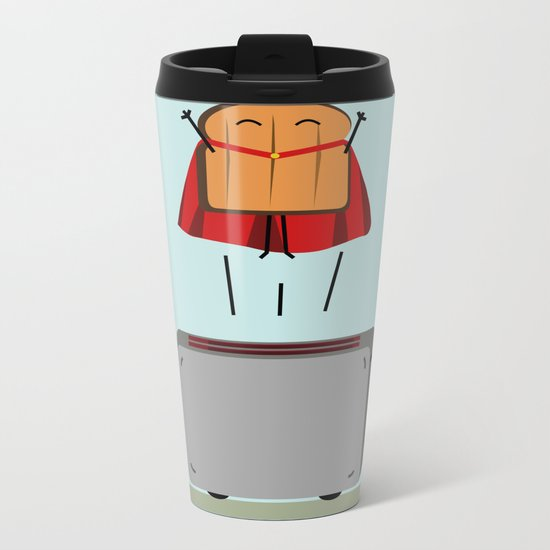 Supertoast! Metal Travel Mug