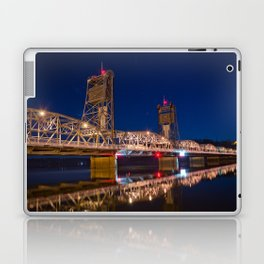 Stillwater MN Lift Bridge at Night Laptop & iPad Skin